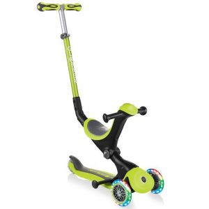 Самокат-велобег Globber GO-UP Deluxe Lights 5in1 (Lime Green)