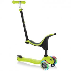 Беговел-самокат Globber GO-UP sporty Lights 4in1 (Lime Green)