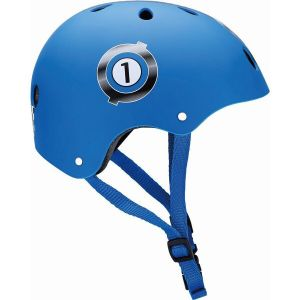 Шлем защитный Globber Racing Navy Blue (синий)