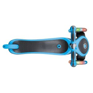 Самокат-велобег Globber EVO 4 in 1 Plus Lights (голубой)