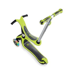 Самокат-велобег Globber EVO 4 in 1 Plus Lights (зеленый)