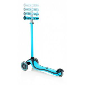 Самокат Globber My Free 2C Primo Plus Lights (голубой)