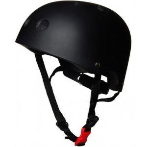 Шлем защитный Kiddimoto черный матовый