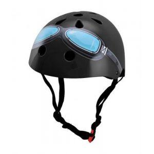 Шлем защитный Kiddimoto Black Goggle