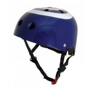 Шлем защитный Kiddimoto синяя мишень