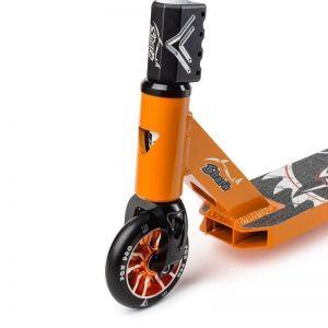 Самокат трюковой FOX PRO Shark (оранжевый)