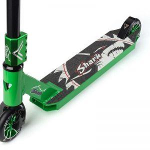 Самокат трюковой FOX PRO Shark (зеленый)