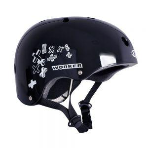 Шлем защитный Worker Standard (черный)