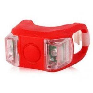 Светодиодный фонарик для самоката / велосипеда (красный)