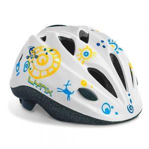 Шлем защитный Lynx Kids White (белый)