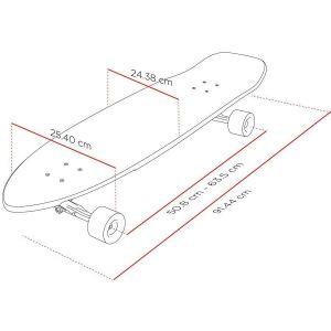 "Скейтборд Longboard Street Surfing Freeride Electrica 36"""
