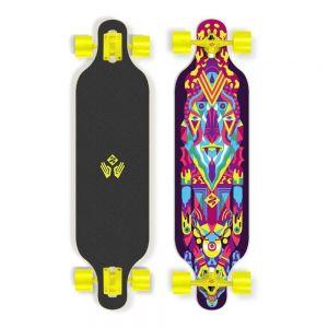 "Скейтборд Longboard Street Surfing Freeride Robot 39"""