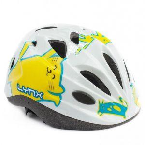 Шлем защитный Lynx Kids White Cats