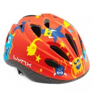 Шлем защитный Lynx Kids Red Monsters