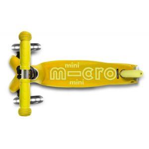 Самокат Mini Micro Deluxe Yellow LED (желтый)