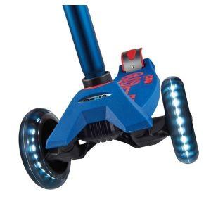Самокат Maxi Micro Deluxe Blue LED (синий)
