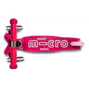 Самокат Mini Micro Deluxe Pink LED (розовый)