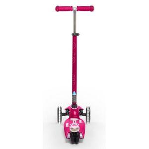 Самокат Maxi Micro Deluxe Pink LED (розовый)