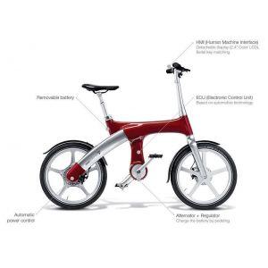 Гибридный велосипед Mando Footloose IM 20' (красный)