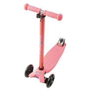 Самокат Maxi Micro Coral Pink Metallic T (кораллово-розовый)
