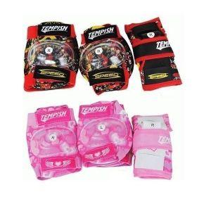 Комплект защиты Tempish Meex (3 предмета) розовый
