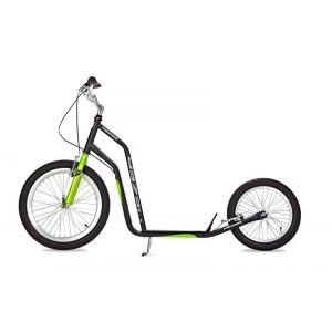 Самокат Yedoo Mezeq V-brake (черно-зеленый)