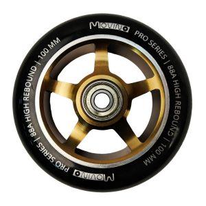Колесо для трюкового самоката Movino Edge 100мм Gold