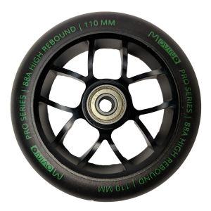 Колесо для трюкового самоката Movino Elite 110мм Black-Green