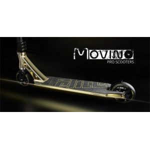 Трюковой самокат Movino Elite (gold)
