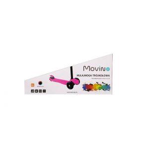 Самокат Movino Twist Plus Pink LED (розовый)