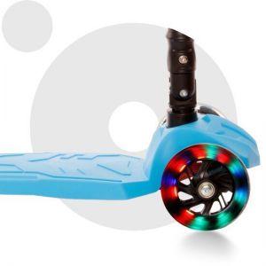 Самокат Movino Twist Plus Blue LED (голубой)