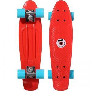 Скейтборд OXELO SKATE JUNIOR (красный)