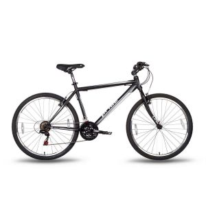 Велосипед 26'' Pride XC-1.0 черно-белый матовый 2016