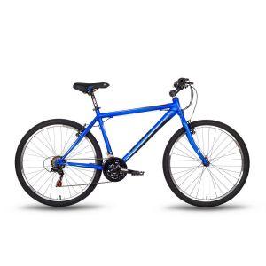 Велосипед 26'' Pride XC-1.0 сине-черный матовый 2016