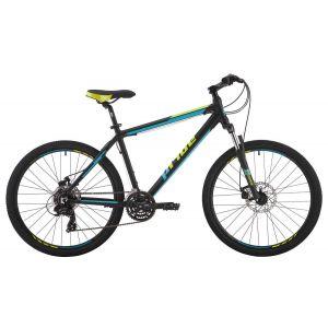 """Велосипед 26"""" Pride Marvel 2.0 черный, голубой, лайм 2017"""