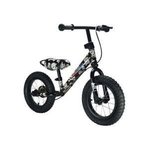 "Беговел 12"" Kiddimoto Super Junior Max Super Skullz"