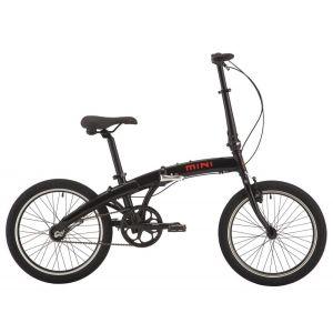 Велосипед 20'' PRIDE MINI 3sp 2018 (черно-красный)