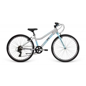 """Велосипед 26"""" Apollo NEO 7s girls Brushed Alloy/Sky Blue/Charcoal"""