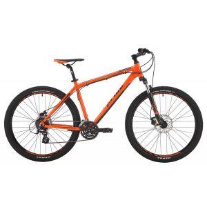 """Велосипед 27,5"""" Pride Rebel 7.2 оранжевый, тёмно-красный, черный 2017"""