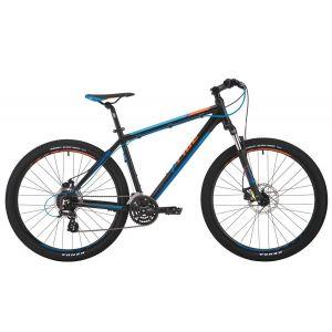 """Велосипед 27,5"""" Pride Rebel 7.2 черный, голубой, оранжевый 2017"""