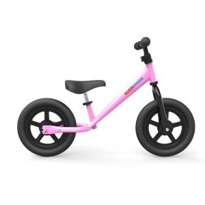 "Беговел 12"" Kiddimoto Super Junior (розовый)"