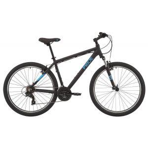 """Велосипед 27,5"""" Pride MARVEL 7.1 черно-голубой 2020"""
