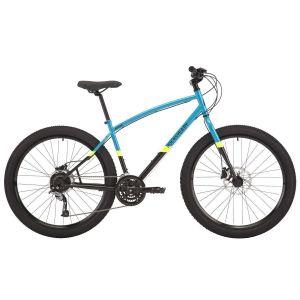 """Велосипед 27,5"""" Pride Rocksteady 7.2 голубой, черный 2018"""