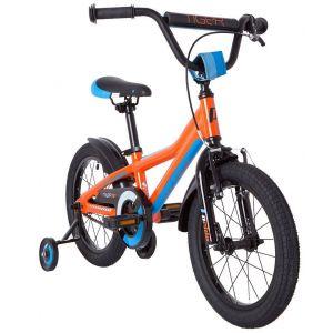 """Велосипед 16"""" Pride Tiger оранжевый/голубой/белый 2018"""