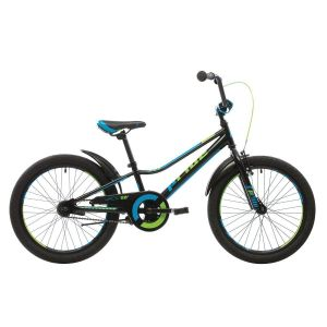 """Велосипед 20"""" Pride Jack черный/синий/лайм 2018"""