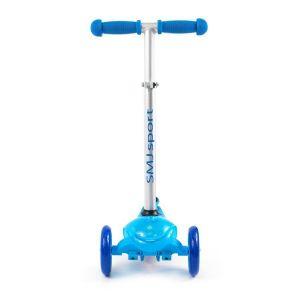 Самокат Smj Sport Mini LED (голубой)
