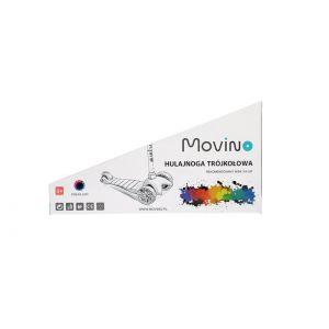 Самокат Movino Twist Blue LED (голубой)