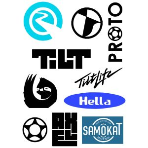 Стикеры Top American Brands sticker pack