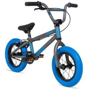 "Велосипед Stolen Agent 12"" 2020 BMX Freestyle Bike (matte raw silver)"