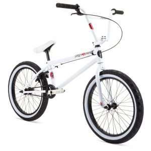 "Велосипед Stolen X Fiction Overload 20"" 2021 BMX Freestyle Bike (snow blind white)"